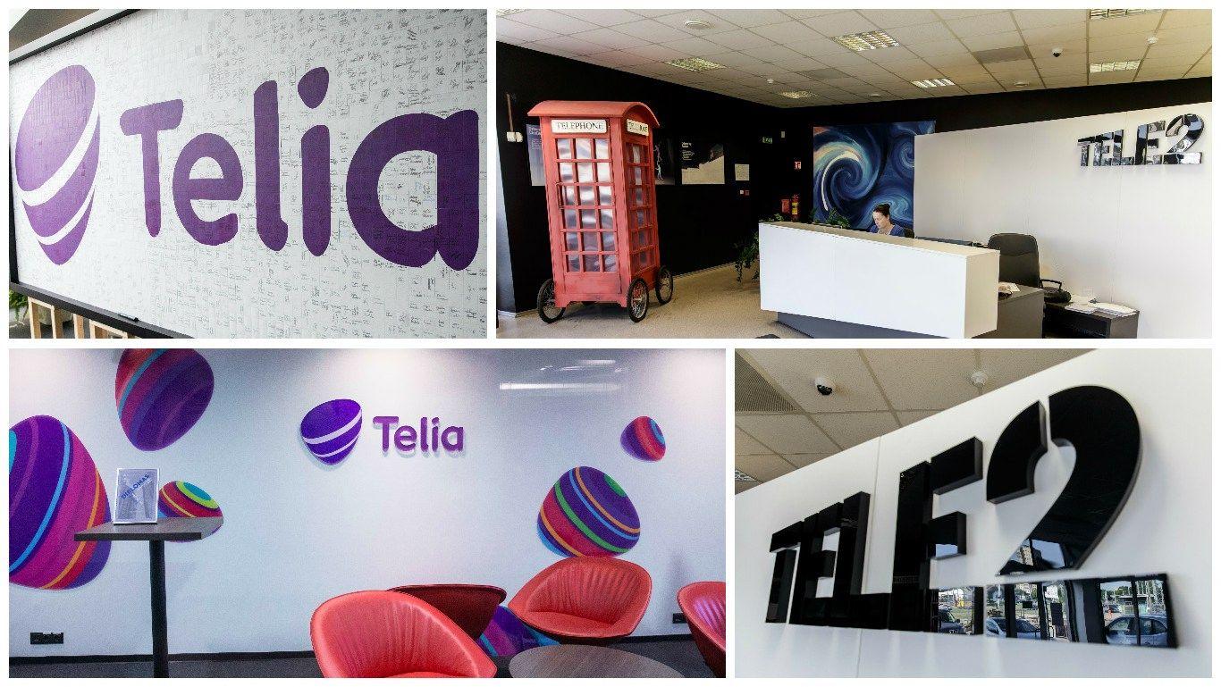 """""""Telia Lietuva"""" ir """"Tele2"""" konkursų aistros ir galimi mainai"""