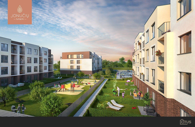 Kauno rajone atgaivino užkonservuotą daugiabučių projektą