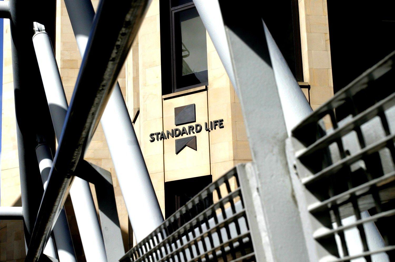 """Jungiasi """"Standard Life"""" ir """"Aberdeen Asset Management"""""""