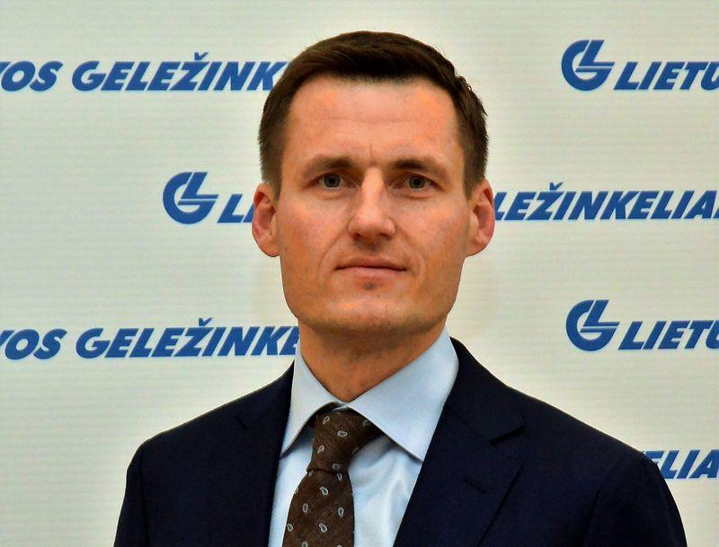 """Linas Baužys, naujasis """"Lietuvos geležinkelių"""" Keleivių vežimo direkcijos vadovas bei generalinio direktoriaus pavaduotojas. Bendrovės nuotr."""