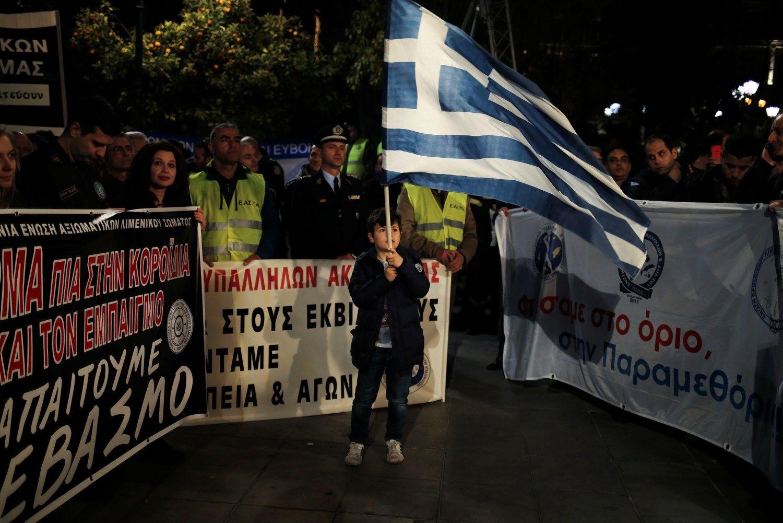 Graikijos ekonomika paskutinį 2016 m. ketvirtį nudardėjo žemyn