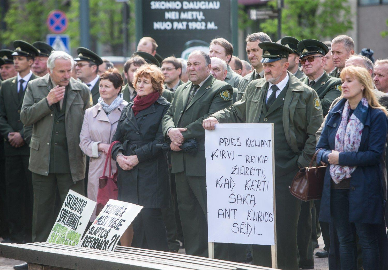 Ultimatumas Vyriausybei: 30 urėdijų arba streikas