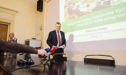 Pramonininkų pastabos Vyriausybės programos priemonių planui