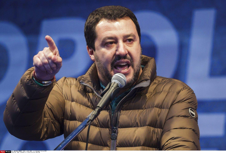 """Putino partijapasirašė susitarimą su italų politikais iš""""Lega Nord"""""""