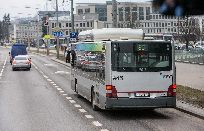 Išsirinko dalį privačių vežėjų Vilniaus viešajam transportui