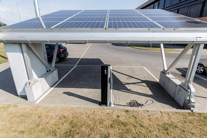 """Saulės jėgainė be jokių subsidijų: investuoja ir """"Lidl"""", ir """"Grinda"""""""