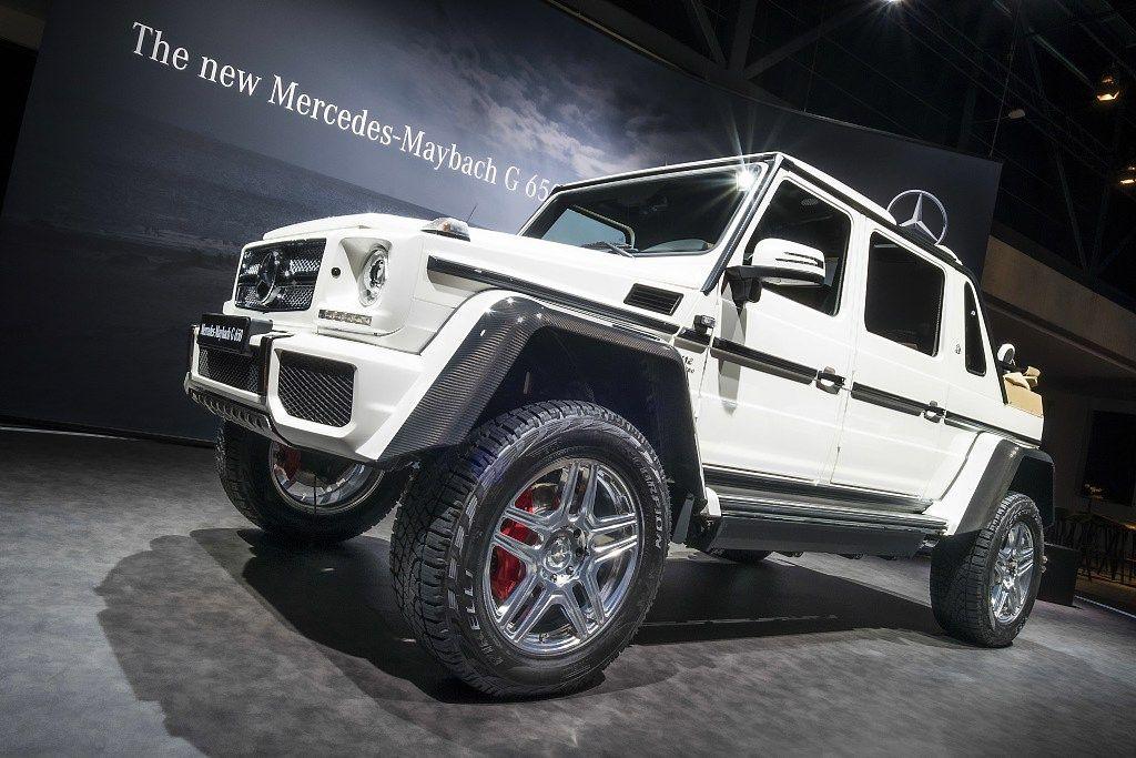 """""""Mercedes-Benz"""" gamins brangiausią pasaulyje visureigį"""