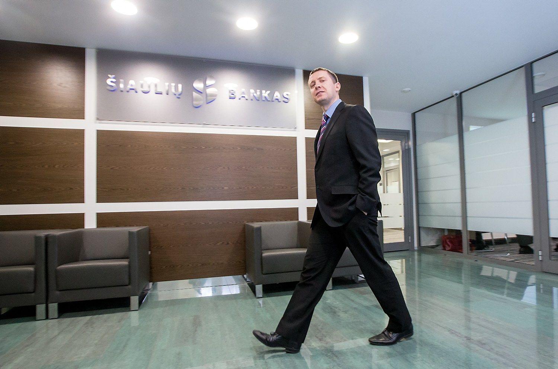 Prieš tiesos dieną Šiaulių banko akcijos aprimo