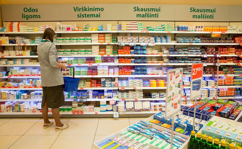 Vaistinių rezultatai: mažiau klientų, daugiau paslaugų ir pajamų