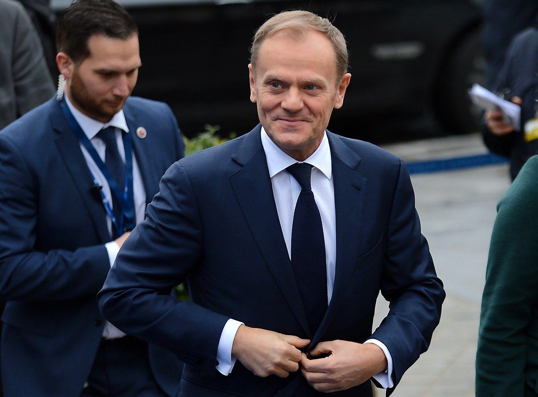Tuskas perrinktas Europos Vadovų Tarybos pirmininku