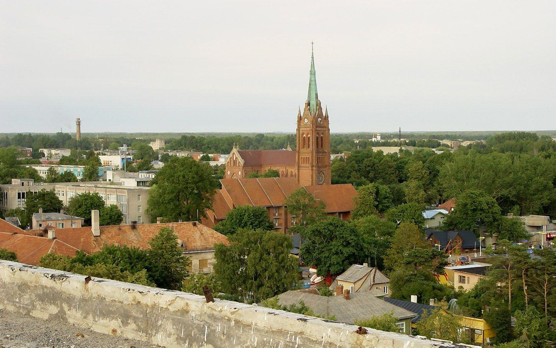 Palangos bažnyčioje bus įrengta apžvalgos aikštelė