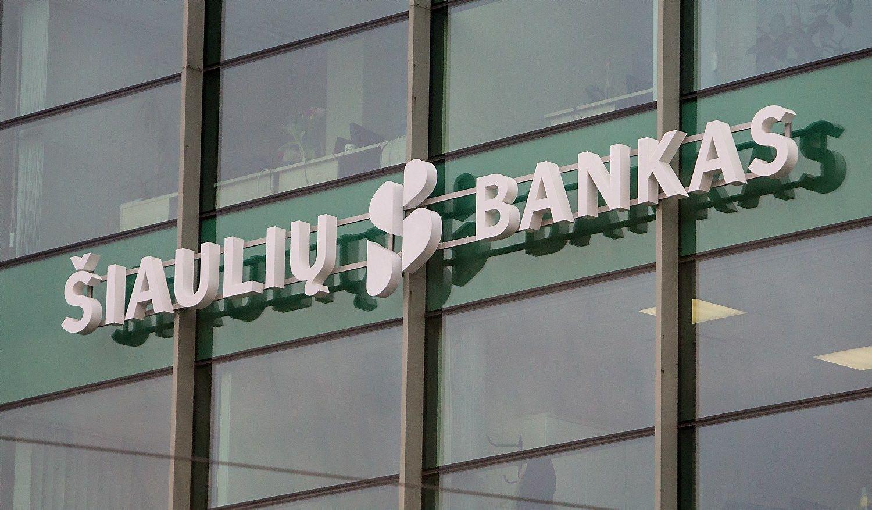 Šiaulių banko valdyba siūlo 2,5 karto didesnius dividendus, 20% nemokamų akcijų