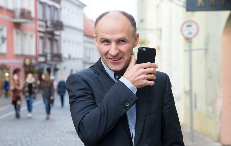 """Pranas Kuisys, telekomunikacijų UAB """"Bitė Lietuva"""" vykdomasis direktorius. Juditos Grigelytės (VŽ) nuotr."""