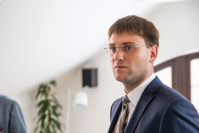 "Šarūnas Frolenko, ""Finco"" vadovas.  Vladimiro Ivanovo (VŽ) nuotr."