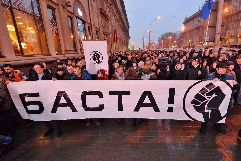 """Lukašenka atsitraukia:kol kas nerinks """"parazitų mokesčio"""""""