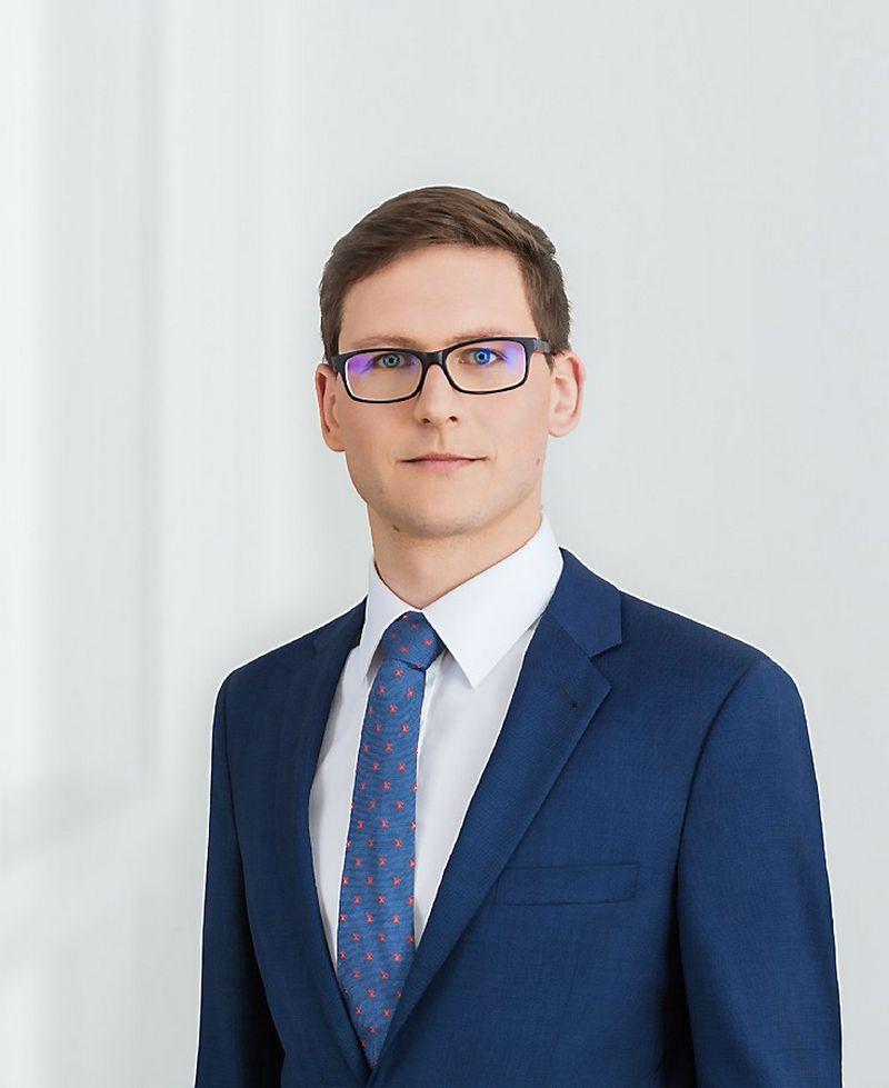 """Simas Paukštys, advokatų kontoros """"Cobalt"""" NT ir infrastruktūros srities teisininkas. Bendrovės nuotr."""