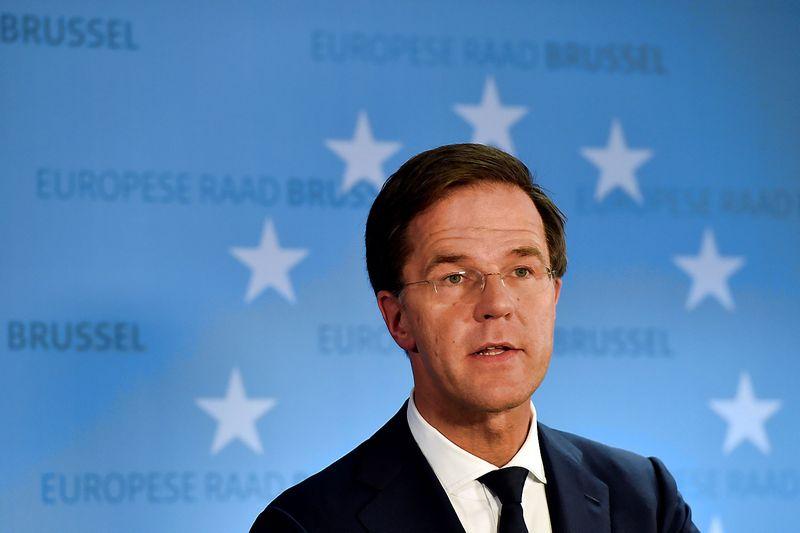 """Marco Rutte, dabartinis premjeras ir bene aršiausias Geerto Wilderso oponentas, iš dalies perėmė pastarojo idėjas. """"Reuters"""" nuotr."""