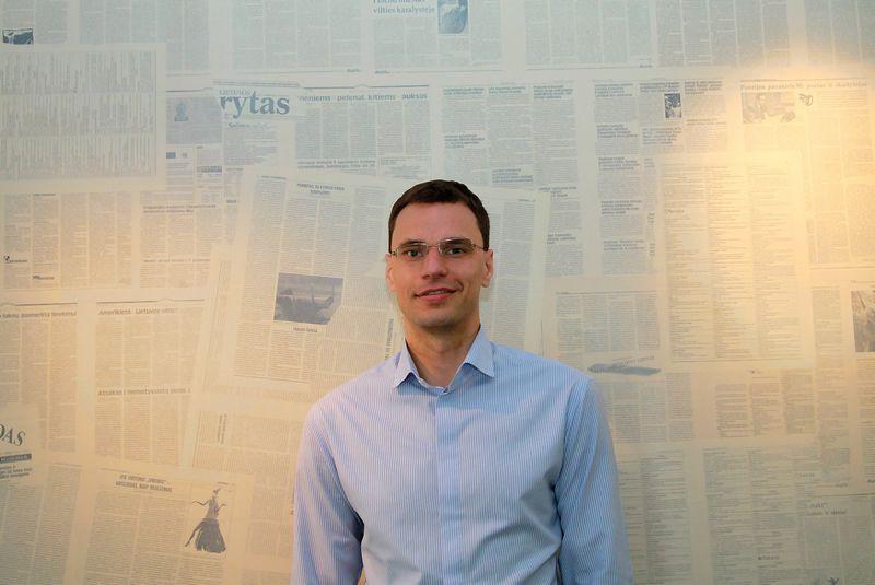 """Darius Gudelis, """"vipcommunications"""" valdybos pirmininkas. Asmeninio archyvo nuotr."""