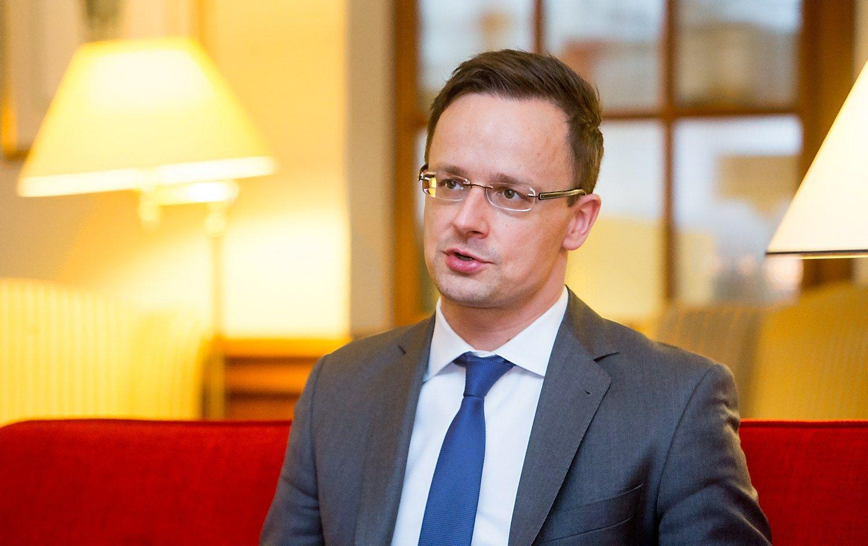 Interviu su Vengrijos ministru: nesutinkame, kad didelės valstybės gali kalbėtis su Rusija, o mažos – ne