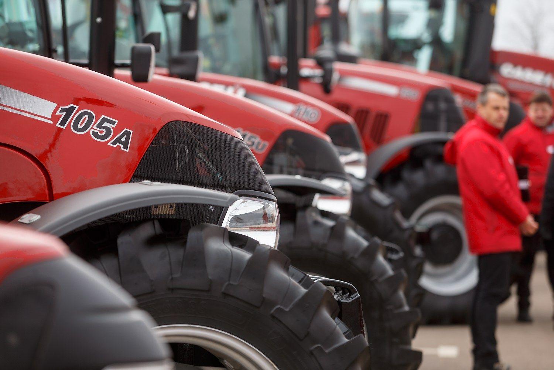 Suskaičiuoti traktorius – misija neįmanoma