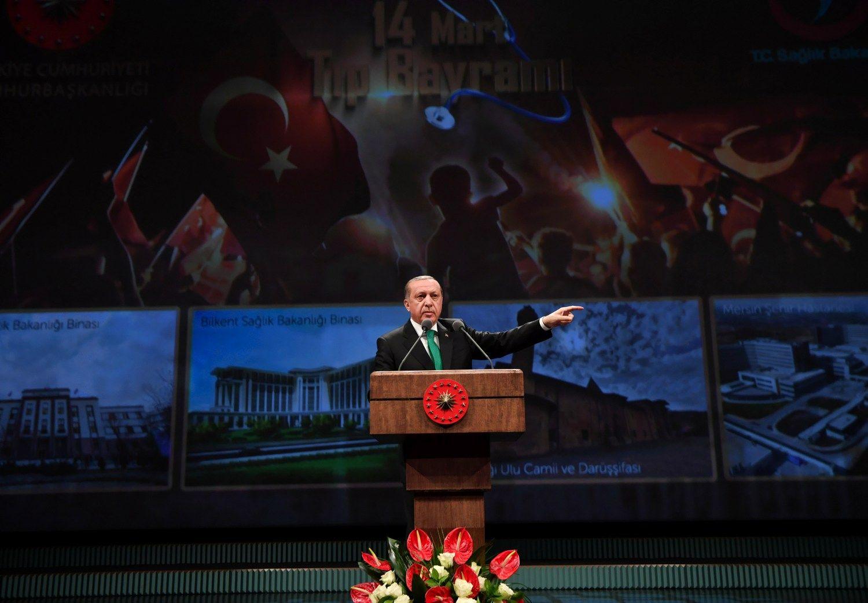 Turkijos prezidentas Nyderlandams: atsiprašymo nepakaks