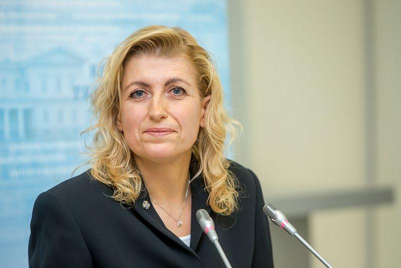 Kultūros ministrė Liana Ruokytė Jonsson. Vladimiro Ivanovo (VŽ) nuotr.