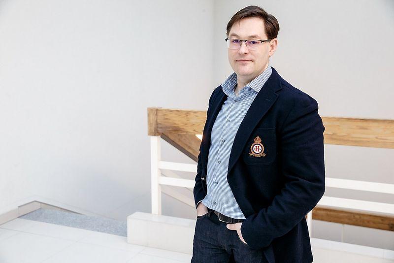 """Artūras Skairys, """"KG Group"""" rinkodaros tarnybos direktorius. Vladimiro Ivanovo (VŽ) nuotr."""