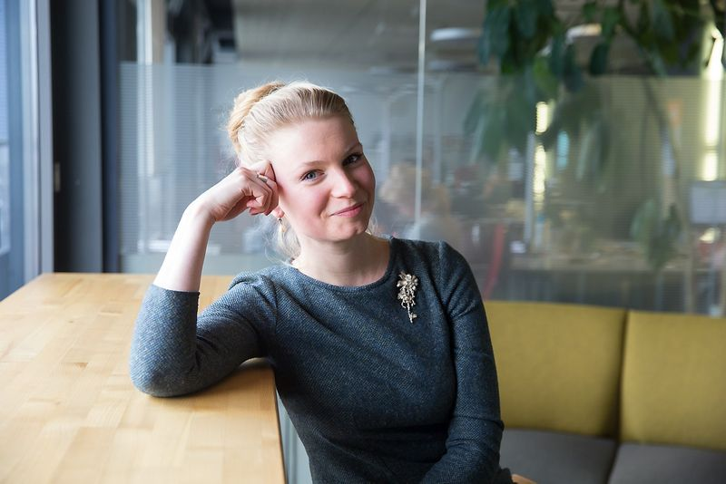 """Kotryna Stankutė-Jaščemskienė, VšĮ """"Globalios Lietuvos lyderiai"""" vykdomoji direktorė. Vladimiro Ivanovo (VŽ) nuotr."""