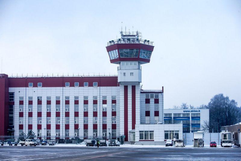 Tarptautinis Vilniaus oro uostas. Skrydžių valdymo centras. Juditos Grigelytės (VŽ) nuotr.