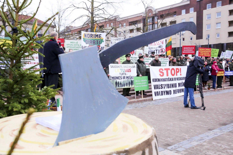 Seimas parodė politinę valią:imasi miškų urėdijų reformos