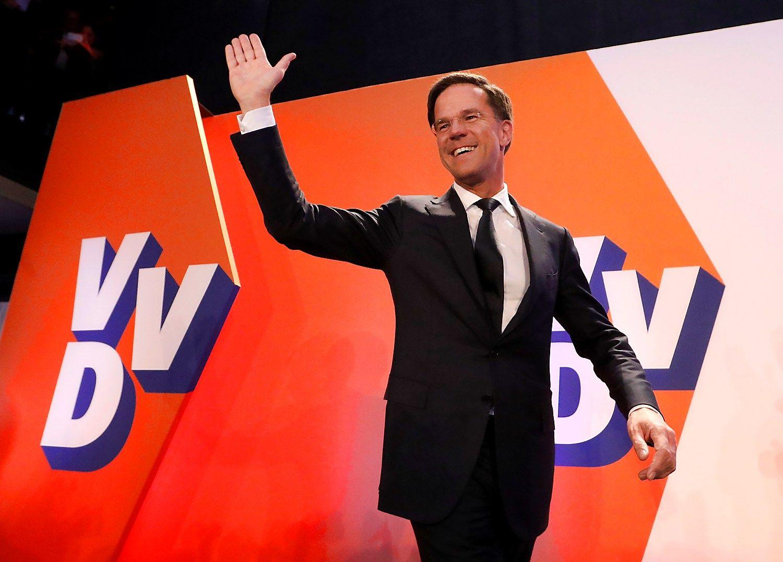 Rutte pergalė Nyderlanduose: pasiskolinta retorika, aktyvumas ir Turkijos dovana