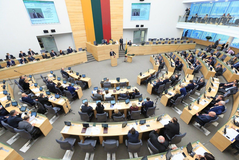 Seimo sesija: Darbo kodeksas, urėdijos, VVĮ vadovų kadencijos