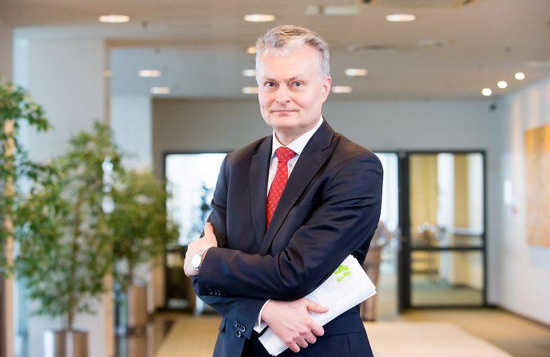 Gitanas Nausėda, SEB banko prezidento patarėjas, finansų analitikas. Juditos Grigelytės (VŽ) nuotr.