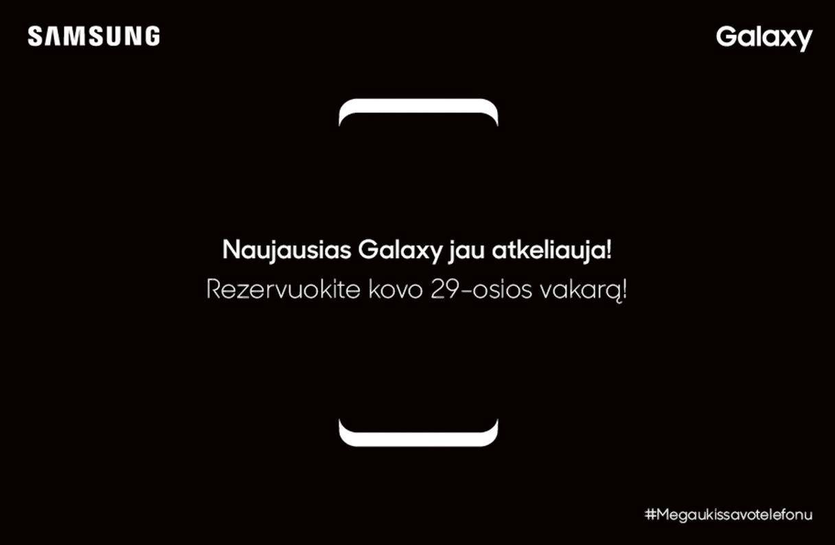 """""""Galaxy S8"""": susidomėjimą kelia gandai ir nuogirdos"""