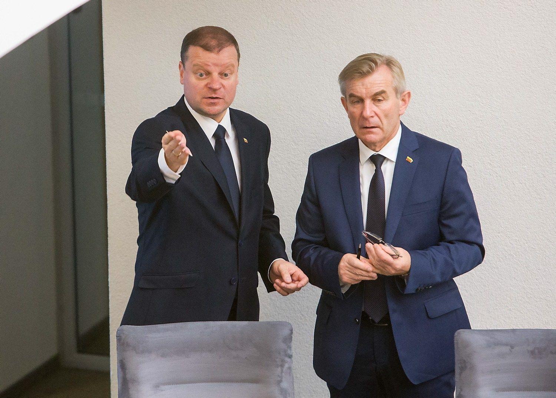 Valstiečių reitingastraukiasi, bet Seimo pirmininko – pučiasi