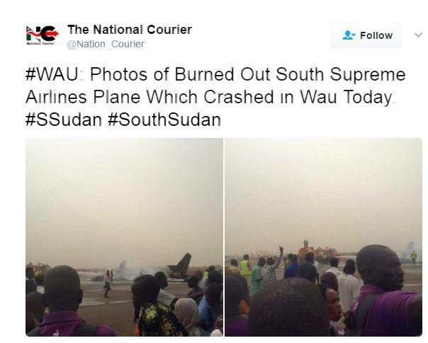 Pietų Sudane sudužo keleivinis lėktuvas