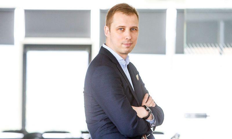 """Andrius Baranauskas, """"Tele2"""" korporacinės komunikacijos direktorius.  Juditos Grigelytės (VŽ) nuotr."""