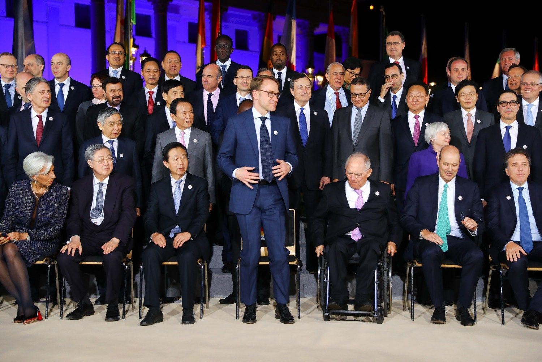 G20 finansų lyderiai nesutarė dėl tarptautinės prekybos