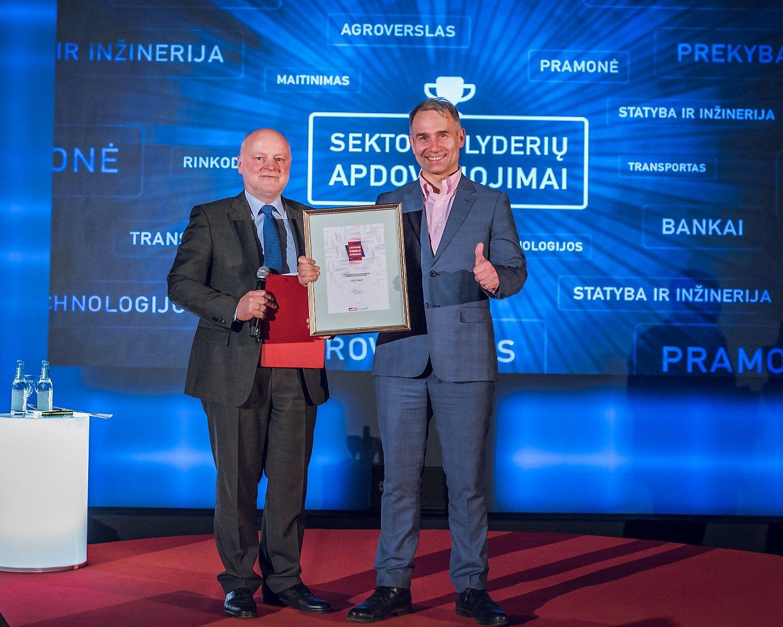 Apdovanotos Lietuvos verslo sektorių lyderės