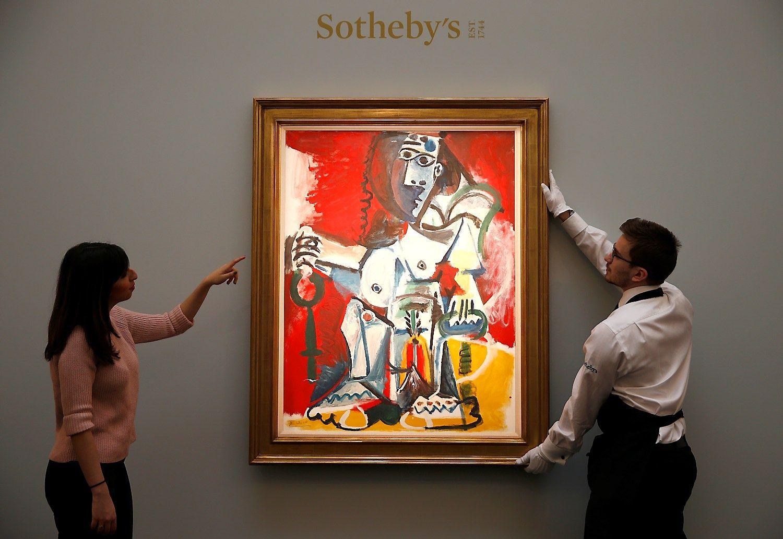 Tarptautinė meno rinka susitraukė labiausiai nuo krizės metų