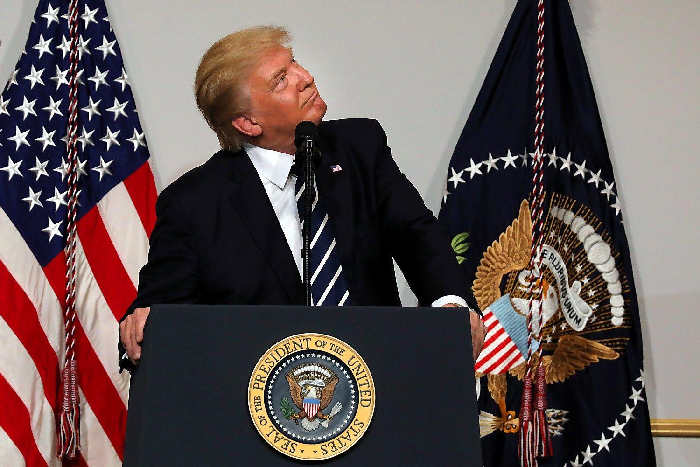 Donaldas Trumpas atvyks į NATO viršūnių susitikimą Briuselyje