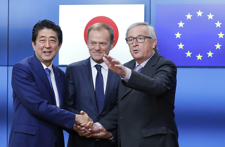 Iki 2017-ųjų pabaigos – ES ir Japonijos prekybos sutartis