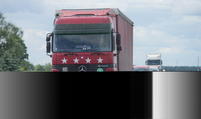 Krovinių srautą pernai labiausiai augino tarptautiniai vežimai
