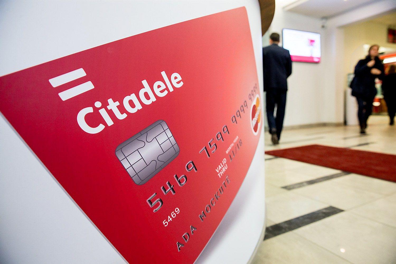 """Nauji verslo klientai išpūtė """"Citadele"""" paskolų portfelį, bet ne pelną"""