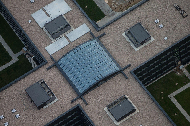 Po dešimtmetį trukusių statybų Pilaitėje atidaryta nauja VSD būstinė