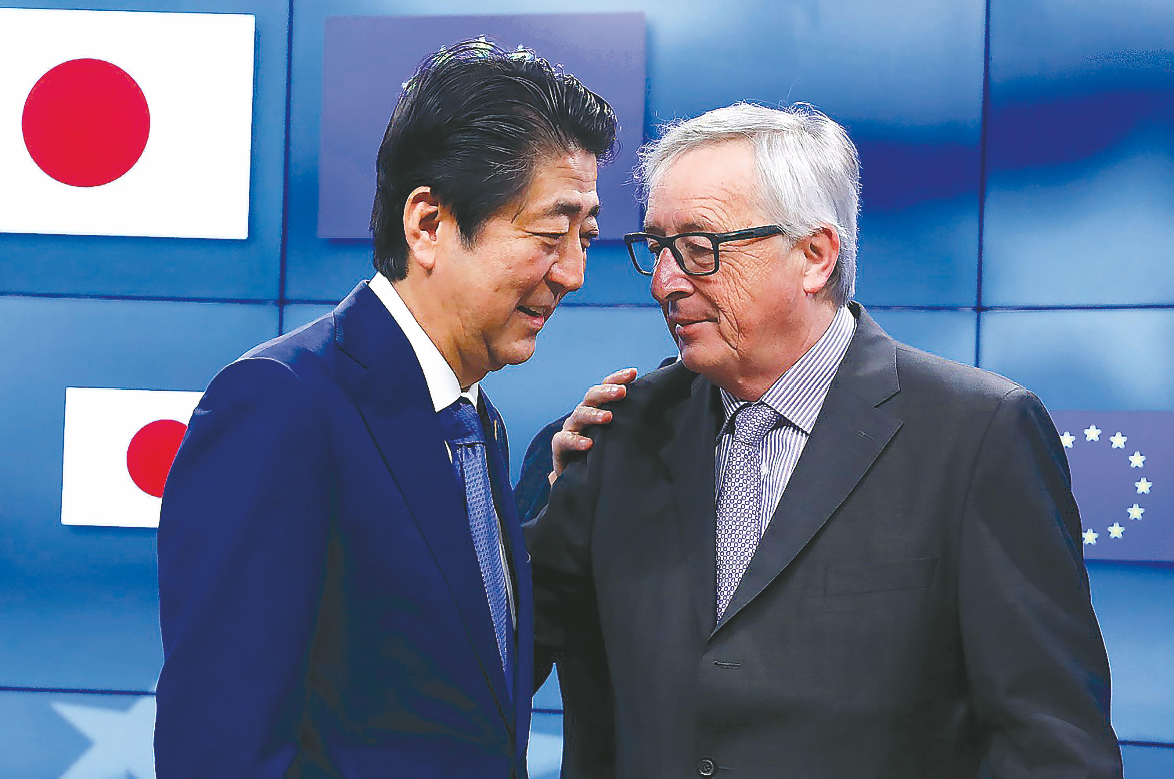 ES ir Japonijos atsakas Trumpui