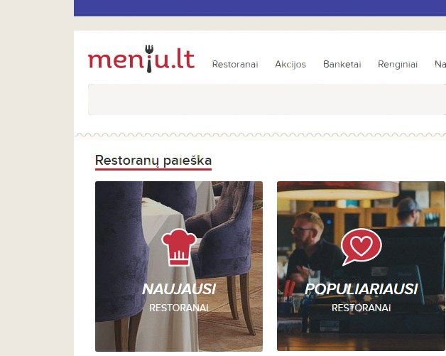 Restoranų gidas atnaujino prekės ženklą