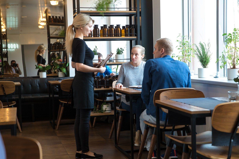 TOP100 didžiausių algų restoranuose