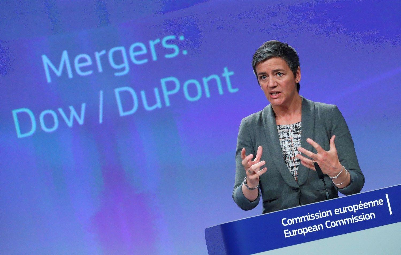 """ES palaimino """"Dow"""" ir """"DuPont"""" susijungimą"""