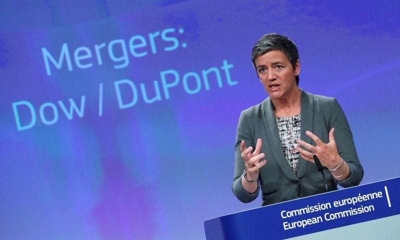 """Margrethe Vestager, Europos konkurencijos komisarė. Yveso Hermano (""""Reuters"""" / """"Scanpix"""") nuotr."""